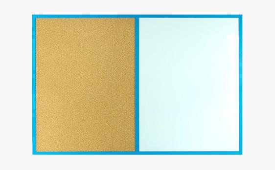 Tablice COMBI w ramie drewnianej kolorowej
