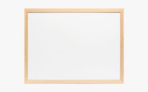 tablica magnetyczna w ramie drewnianej lakierowanej